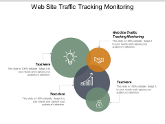 Web Site Traffic Tracking Monitoring Ppt PowerPoint Presentation Slides Cpb