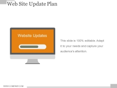 Web Site Update Plan Ppt PowerPoint Presentation Background Image