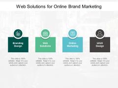 Web Solutions For Online Brand Marketing Ppt PowerPoint Presentation Model Portfolio