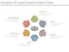 Web Spider Ppt Layout Powerpoint Slides Themes