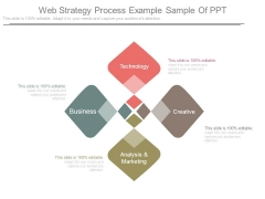 Web Strategy Process Example Sample Of Ppt