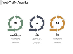 Web Traffic Analytics Ppt PowerPoint Presentation Inspiration Outfit Cpb