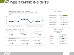 Web Traffic Insights Ppt PowerPoint Presentation Pictures Portrait