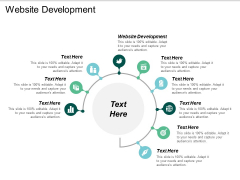 Website Development Ppt PowerPoint Presentation Pictures Good Cpb