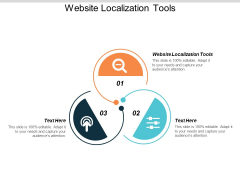 Website Localization Tools Ppt PowerPoint Presentation Icon Examples Cpb