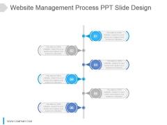 Website Management Process Ppt Slide Design