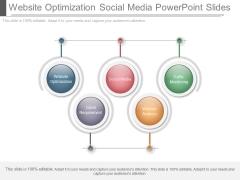 Website Optimization Social Media Powerpoint Slides