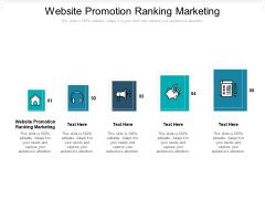 Website Promotion Ranking Marketing Ppt PowerPoint Presentation Layouts Slideshow Cpb Pdf