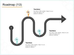 Website Revamp Quotation Roadmap Ppt Slides Files PDF