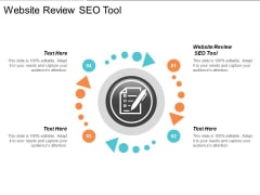 Website Review Seo Tool Ppt PowerPoint Presentation Gallery Example Cpb