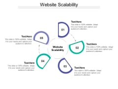 Website Scalability Ppt PowerPoint Presentation Slides Aids Cpb