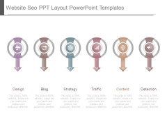 Website Seo Ppt Layout Powerpoint Templates