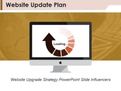Website Update Plan Ppt PowerPoint Presentation Background Image