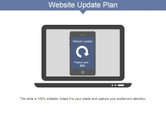 Website Update Plan Ppt PowerPoint Presentation Icon Design Ideas