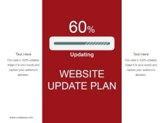 Website Update Plan Ppt PowerPoint Presentation Ideas Graphic Tips