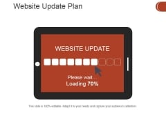 Website Update Plan Ppt PowerPoint Presentation Show Example