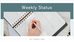 Weekly Status Executive Implementation Ppt PowerPoint Presentation Complete Deck With Slides