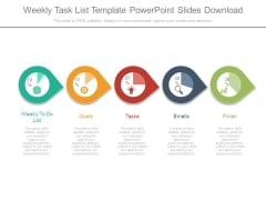 Weekly Task List Template Powerpoint Slides Download