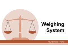 Weighing System Dollar Briefcase Ppt PowerPoint Presentation Complete Deck