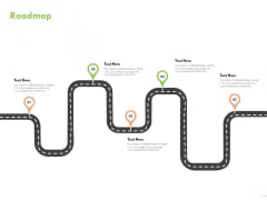 Welfare Work Value Roadmap Ppt Ideas Slides PDF