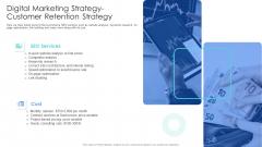 Well Being Gymnasium Sector Digital Marketing Strategy Customer Retention Strategy Designs PDF