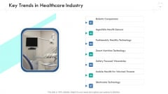 Wellness Management Key Trends In Healthcare Industry Ppt Visual Aids PDF