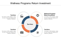 Wellness Programs Return Investment Ppt PowerPoint Presentation Summary Layouts Cpb