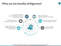 What Are The Benefits Of Alignment Ppt PowerPoint Presentation Slides Ideas
