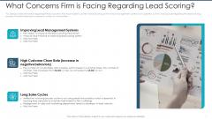 What Concerns Firm Is Facing Regarding Lead Scoring Designs PDF