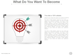 What Do You Want To Become Ppt PowerPoint Presentation Guide