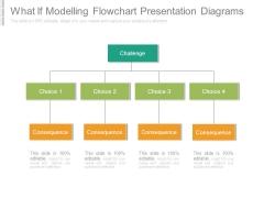 What If Modelling Flowchart Presentation Diagrams
