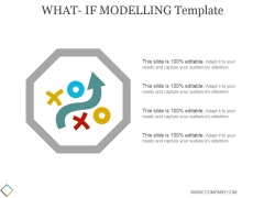 What If Modelling Template 1 Ppt PowerPoint Presentation Designs Download