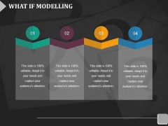 What If Modelling Template 2 Ppt Powerpoint Presentation Infographic Template Show