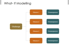 What If Modelling Template 3 Ppt PowerPoint Presentation Show