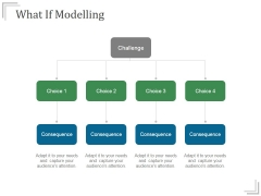 What If Modelling Templates 1 Ppt PowerPoint Presentation Template