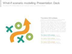What If Scenario Modelling Presentation Deck