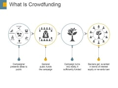 What Is Crowdfunding Ppt PowerPoint Presentation Infographics Gridlines