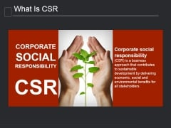 What Is Csr Ppt PowerPoint Presentation Gallery