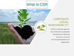 What Is Csr Ppt PowerPoint Presentation Pictures