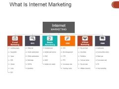 What Is Internet Marketing Ppt PowerPoint Presentation Designs