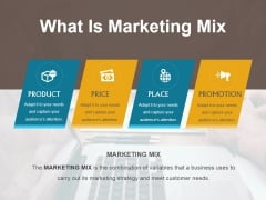 What Is Marketing Mix Ppt PowerPoint Presentation Show