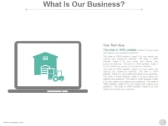 What Is Our Business Ppt PowerPoint Presentation Templates