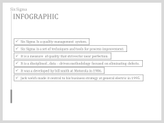 What Is Six Sigma Infographics Ppt Slides