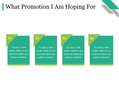 What Promotion I Am Hoping For Ppt PowerPoint Presentation Ideas Graphic Images