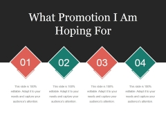 What Promotion I Am Hoping For Ppt PowerPoint Presentation Portfolio Background Images