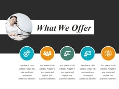 What We Offer Template 2 Ppt PowerPoint Presentation Infographics Inspiration