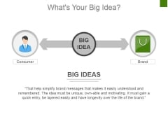 Whats Your Big Idea Ppt PowerPoint Presentation Infographic Template Guide