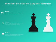 White And Black Chess Two Competitor Vector Icon Ppt PowerPoint Presentation Gallery Graphics Download PDF