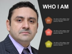 Who I Am Ppt PowerPoint Presentation Background Image