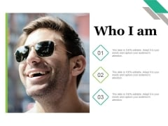 Who I Am Ppt PowerPoint Presentation Icon Themes